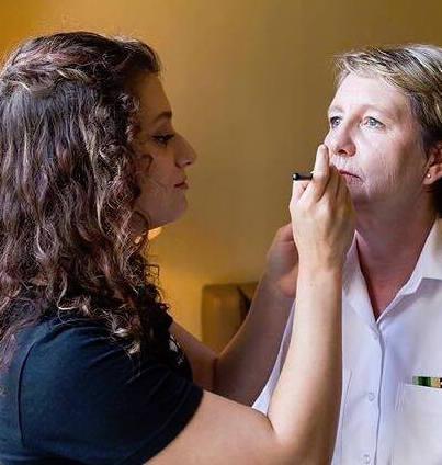 rebecca gauci, makeup artist,